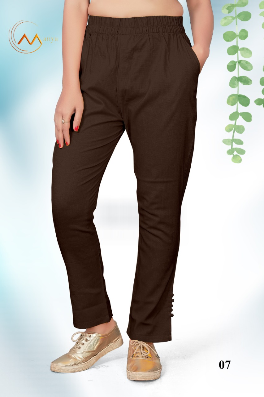 Mansi Fashion Lycra Pant collection 8