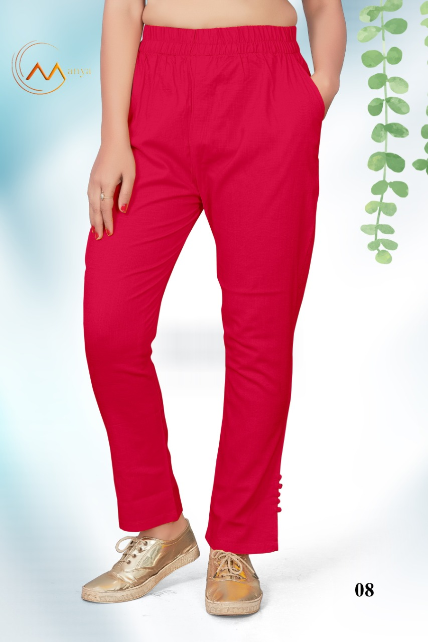 Mansi Fashion Lycra Pant collection 4