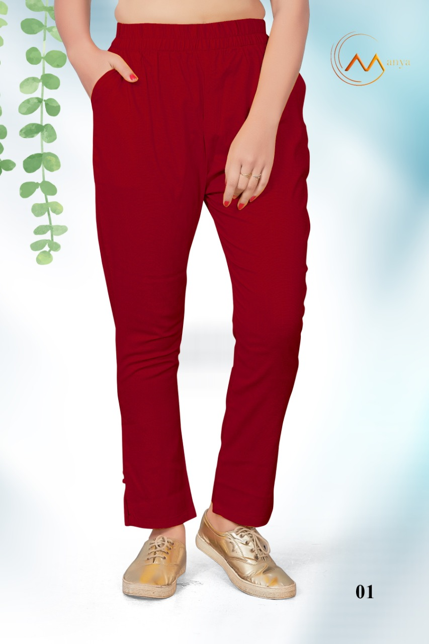 Mansi Fashion Lycra Pant collection 1