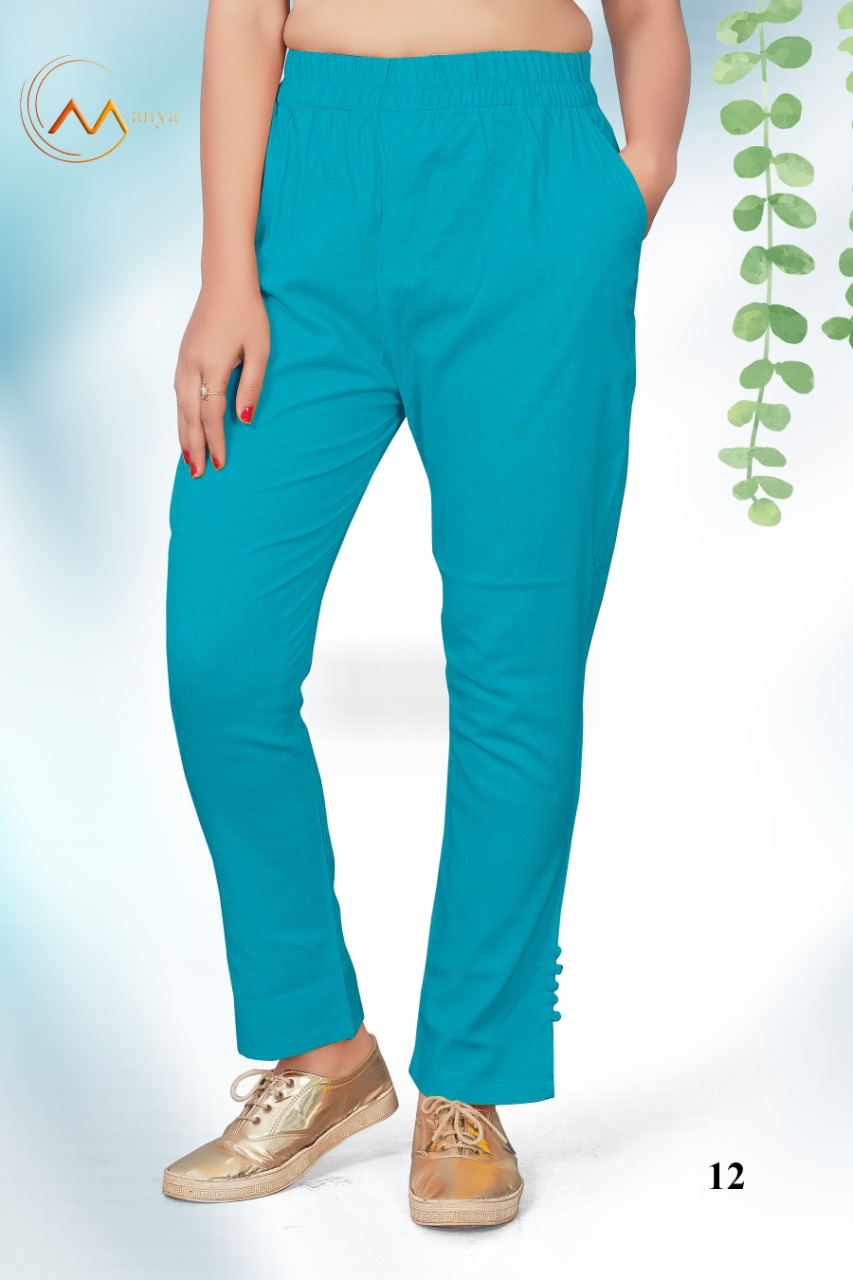 Mansi Fashion Lycra Pant collection 7