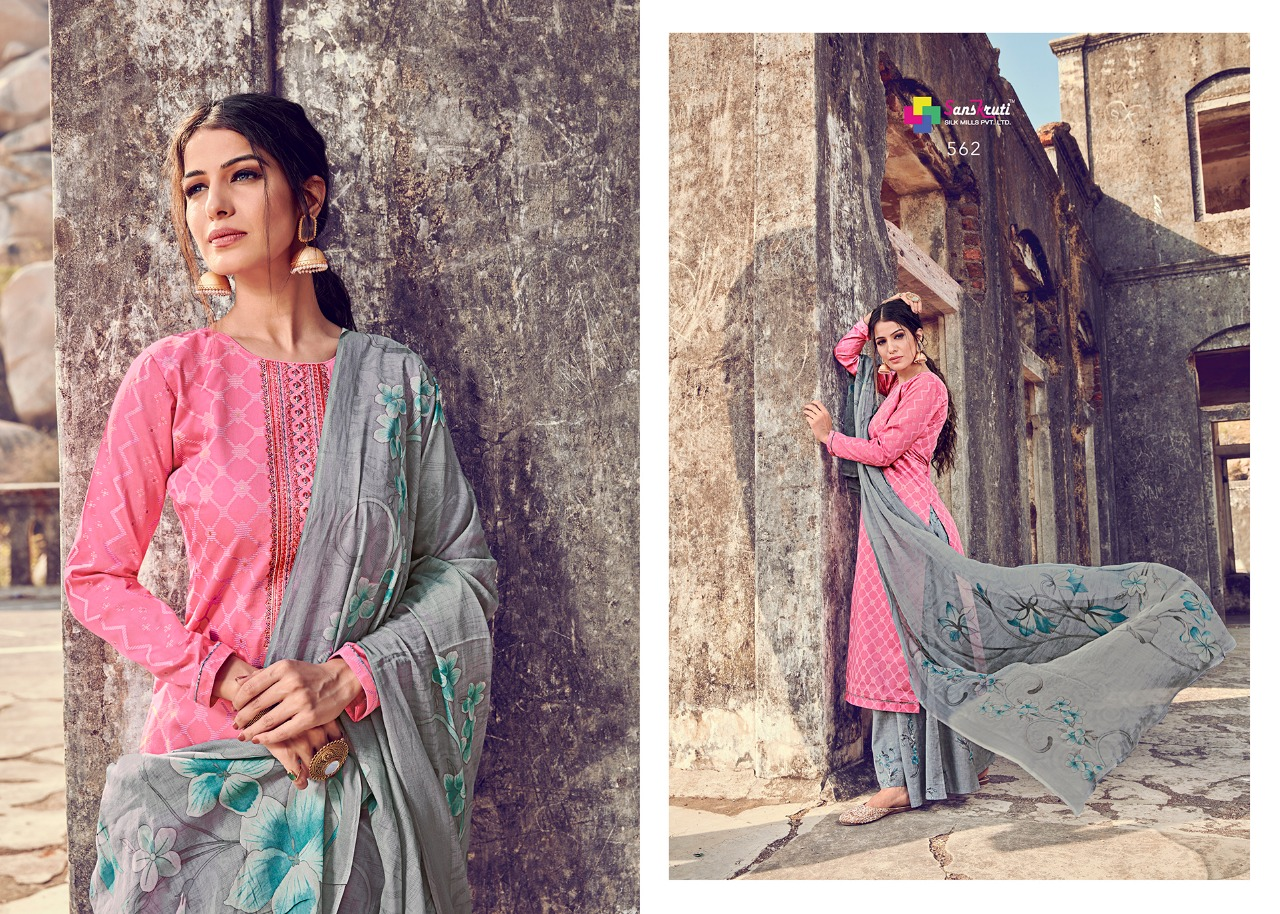 Sanskruti Silk Mills Beenish collection 2
