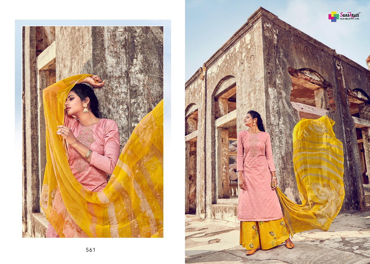 Sanskruti Silk Mills Beenish collection 3
