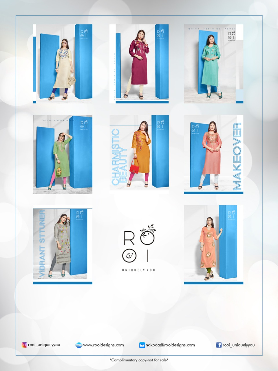 Rooi Arohi collection 1
