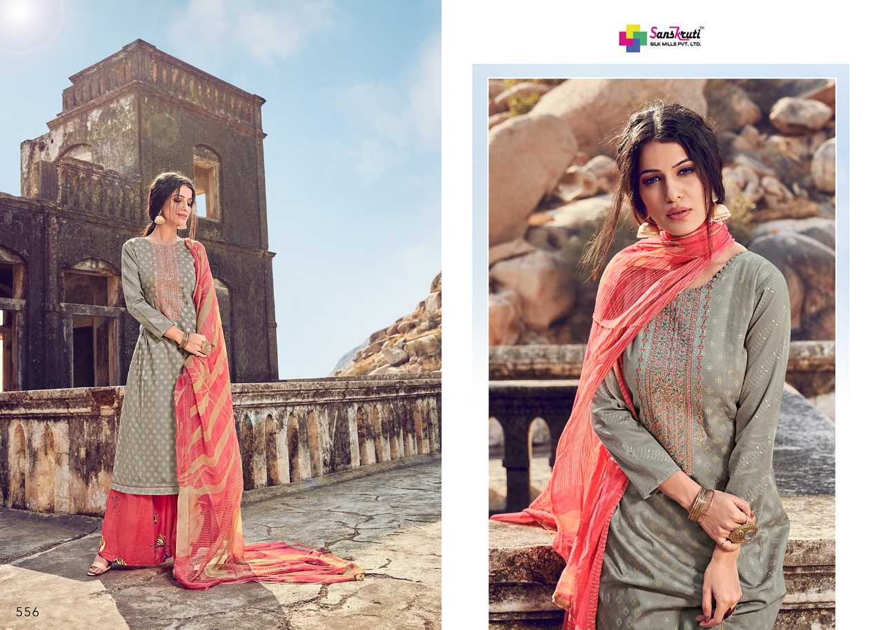 Sanskruti Silk Mills Beenish collection 9
