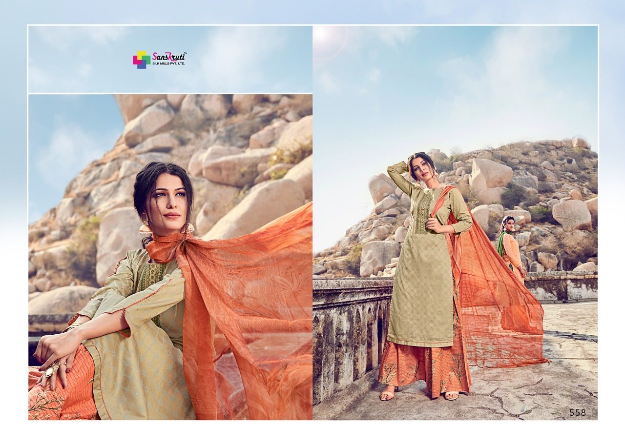 Sanskruti Silk Mills Beenish collection 14