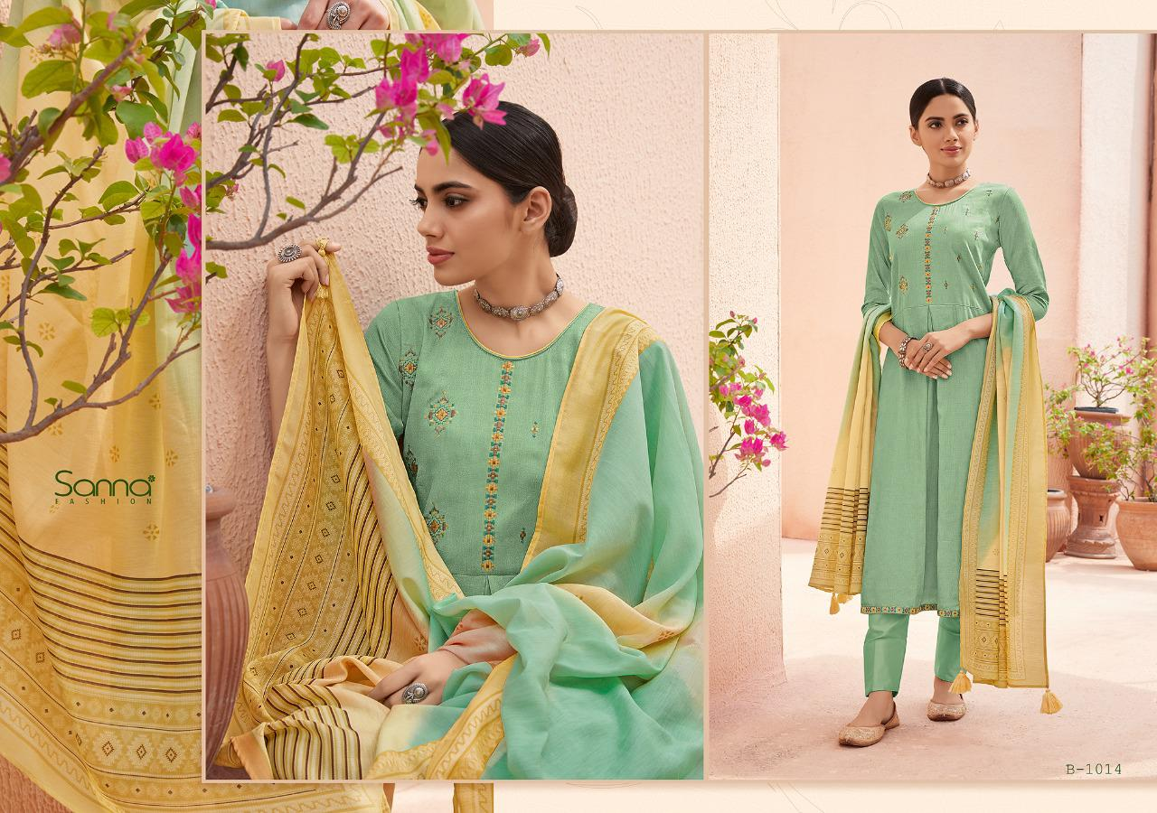 Sanna Benazir Pure collection 9