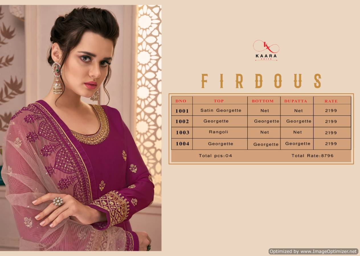 Kaara Firdous collection 1