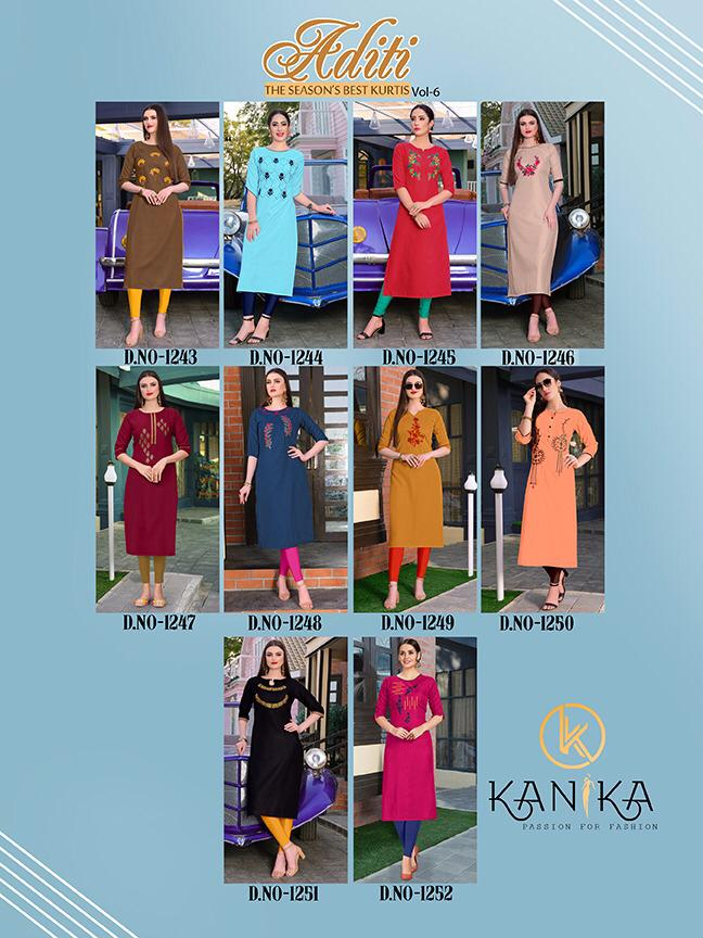 Kanika Aditi Vol 6 collection 1