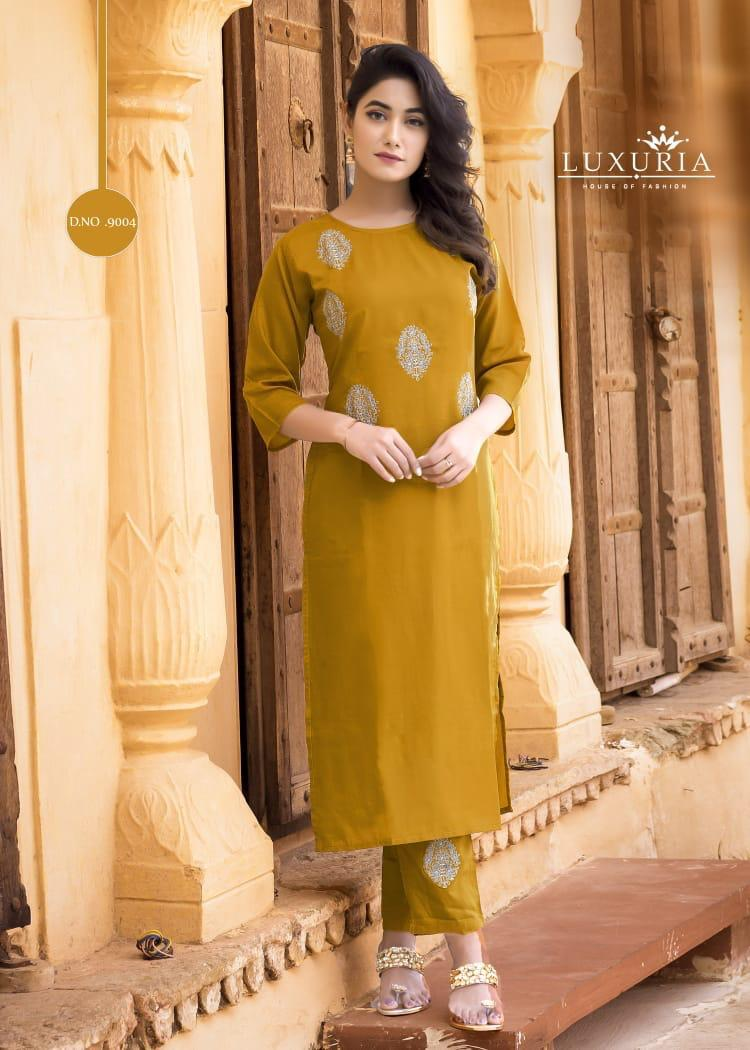 Luxuria House Of Fashion Aarya collection 2