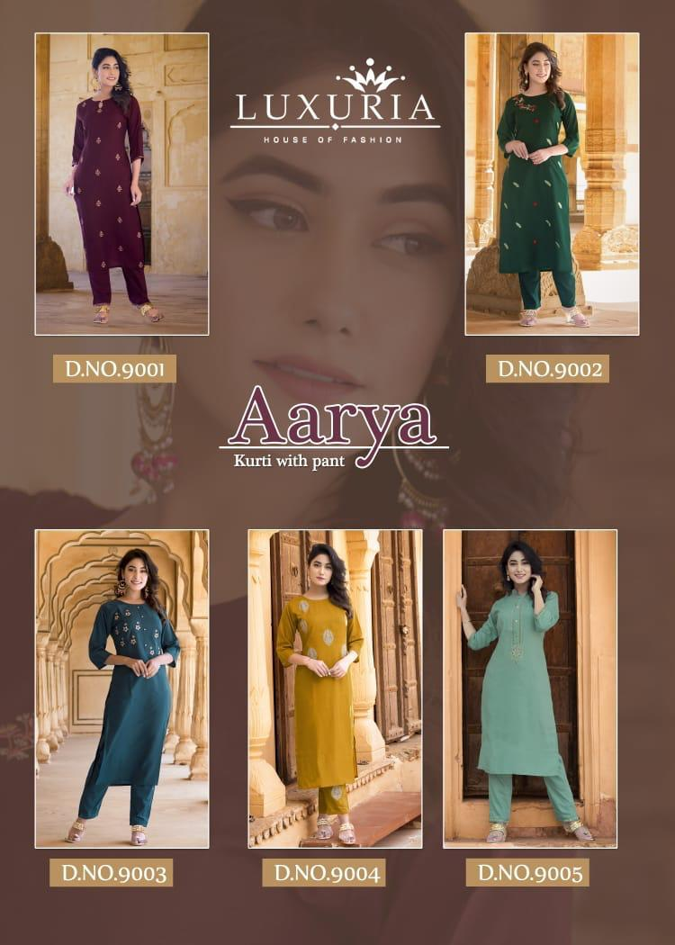 Luxuria House Of Fashion Aarya collection 7
