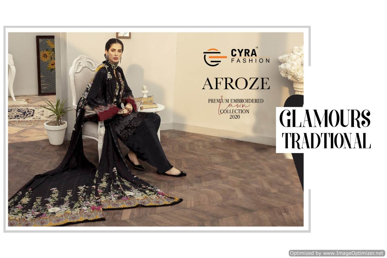 Cyra Afroze collection 5