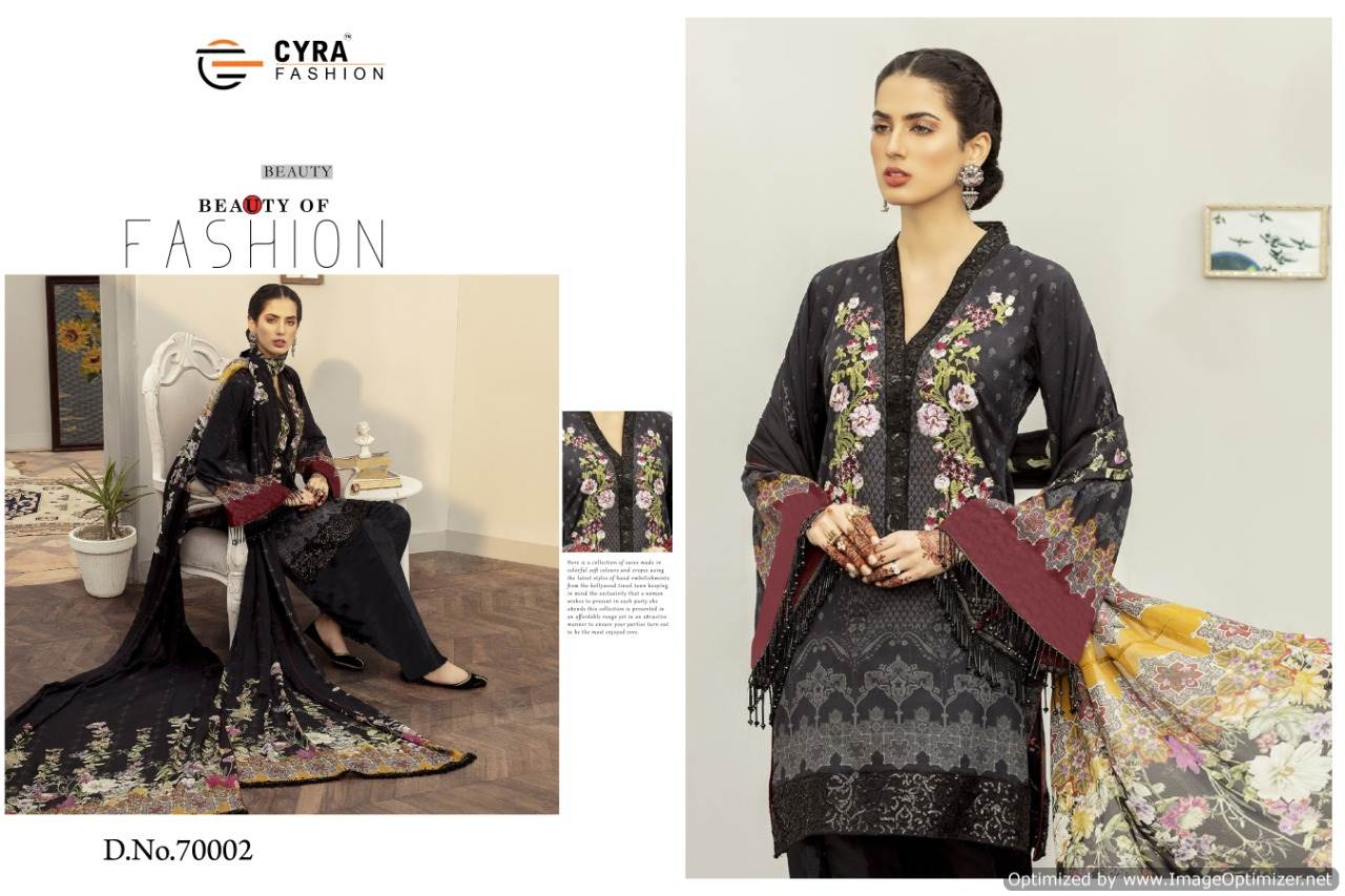 Cyra Afroze collection 1