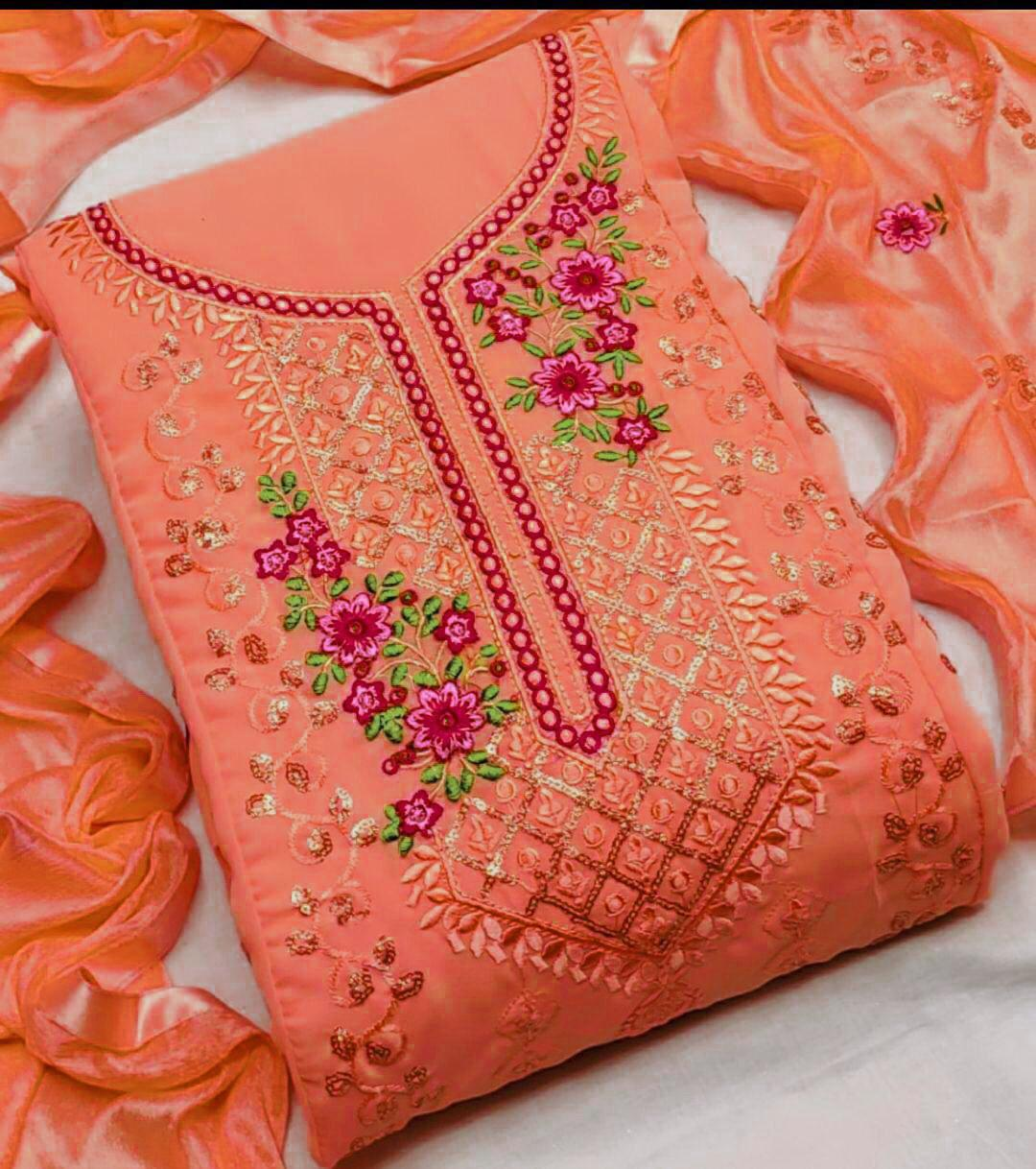 Georgette Coral collection 1