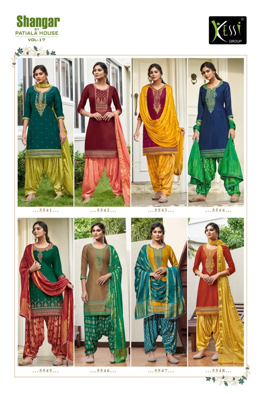 Kessi Shangar by Patiala House Vol 17 collection 3