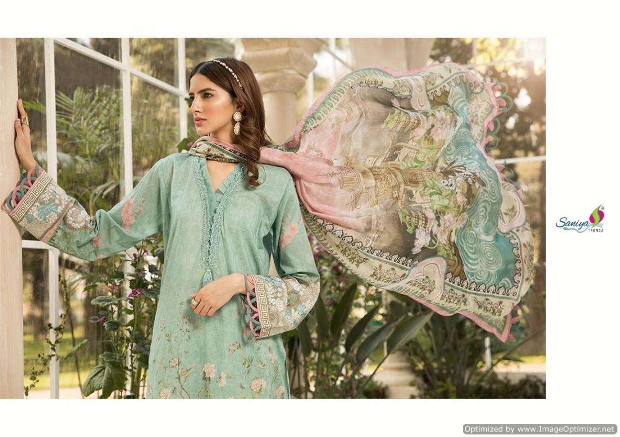 Saniya Maria B Lawn Mprint collection 2