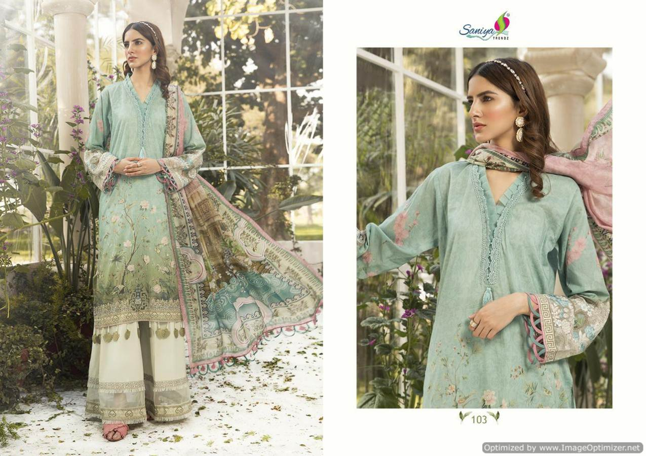 Saniya Maria B Lawn Mprint collection 6