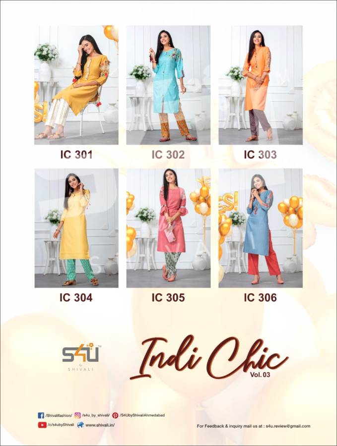 S4U Indi Chic 3 collection 2