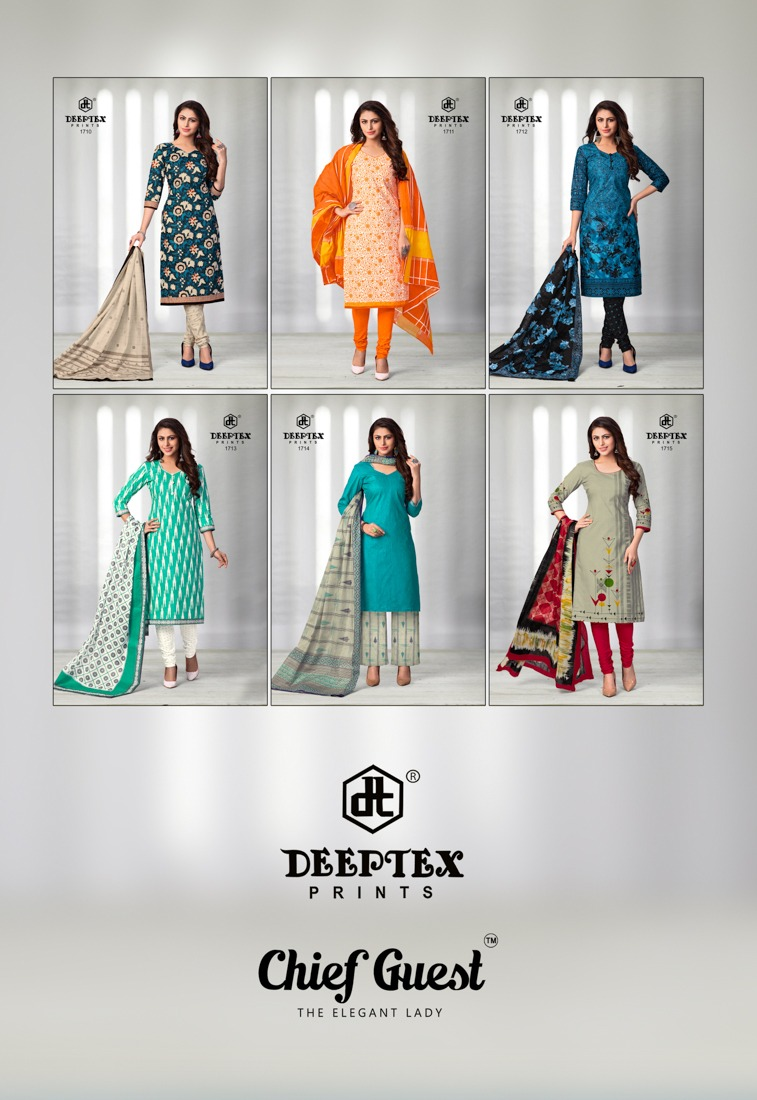 Deeptex Chief Guest 17 collection 1