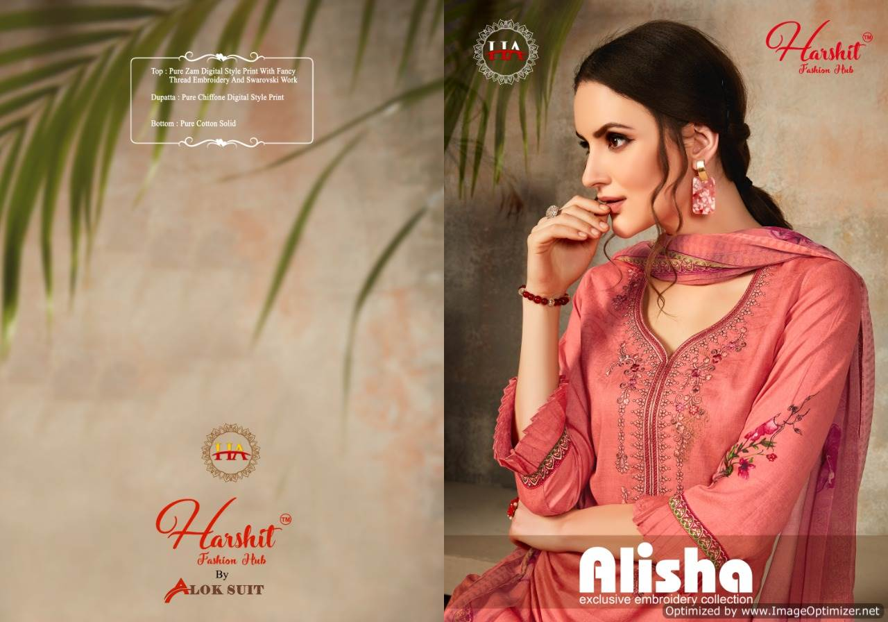Harshit Alisha collection 8