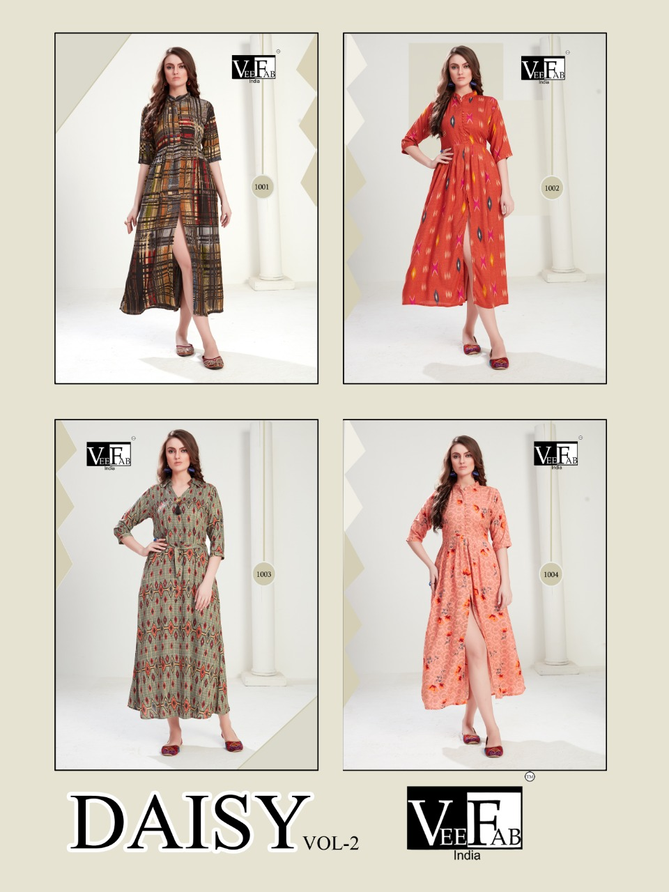 Vee Fab India Daisy Vol 2 collection 2