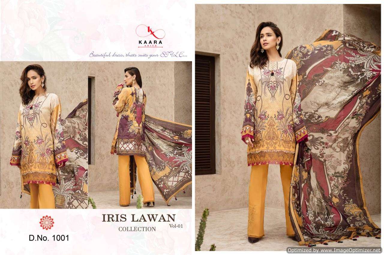 Kaara Iris Lawn Collection 1 collection 3