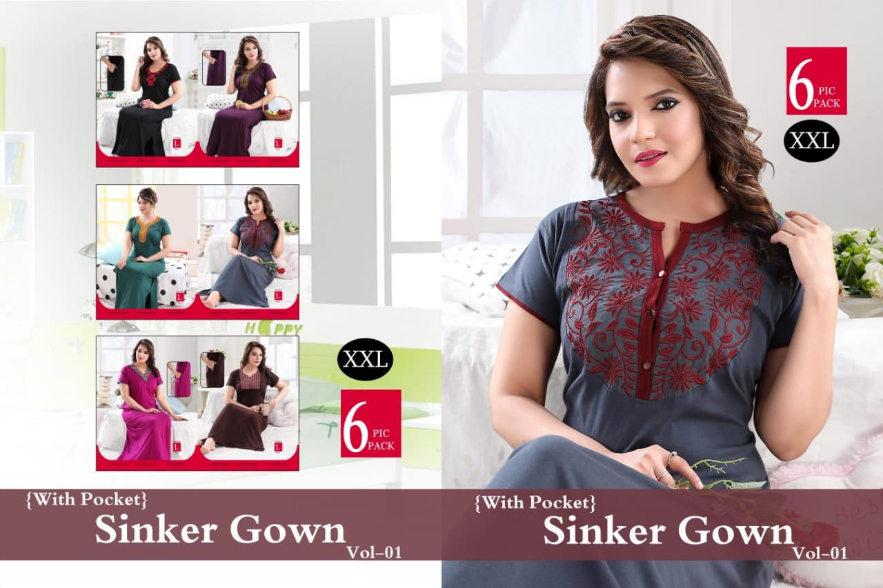 New Gown Nighty 2 collection 5
