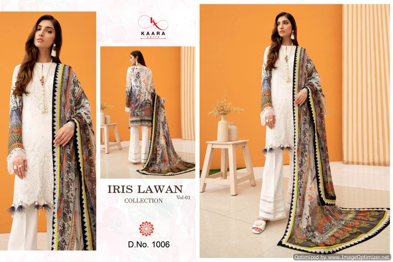 Kaara Iris Lawn Collection 1 collection 1