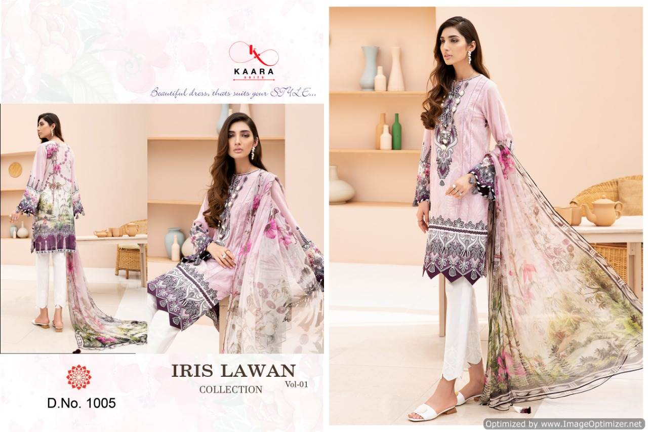 Kaara Iris Lawn Collection 1 collection 7