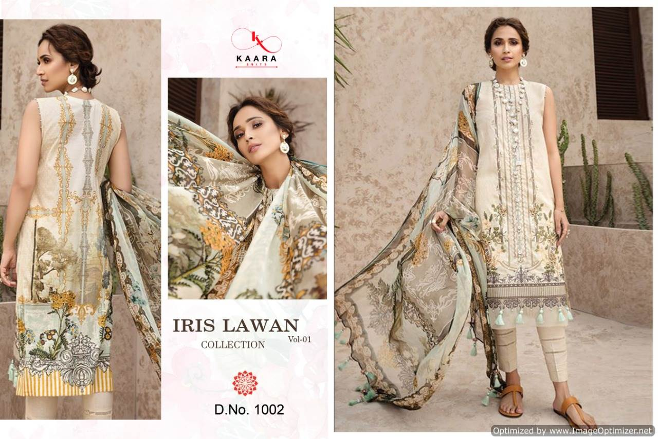 Kaara Iris Lawn Collection 1 collection 6