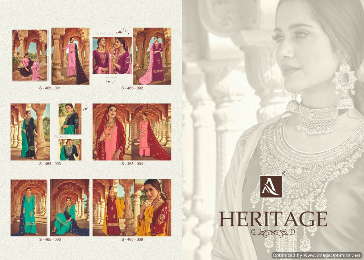 Alok Heritage collection 6