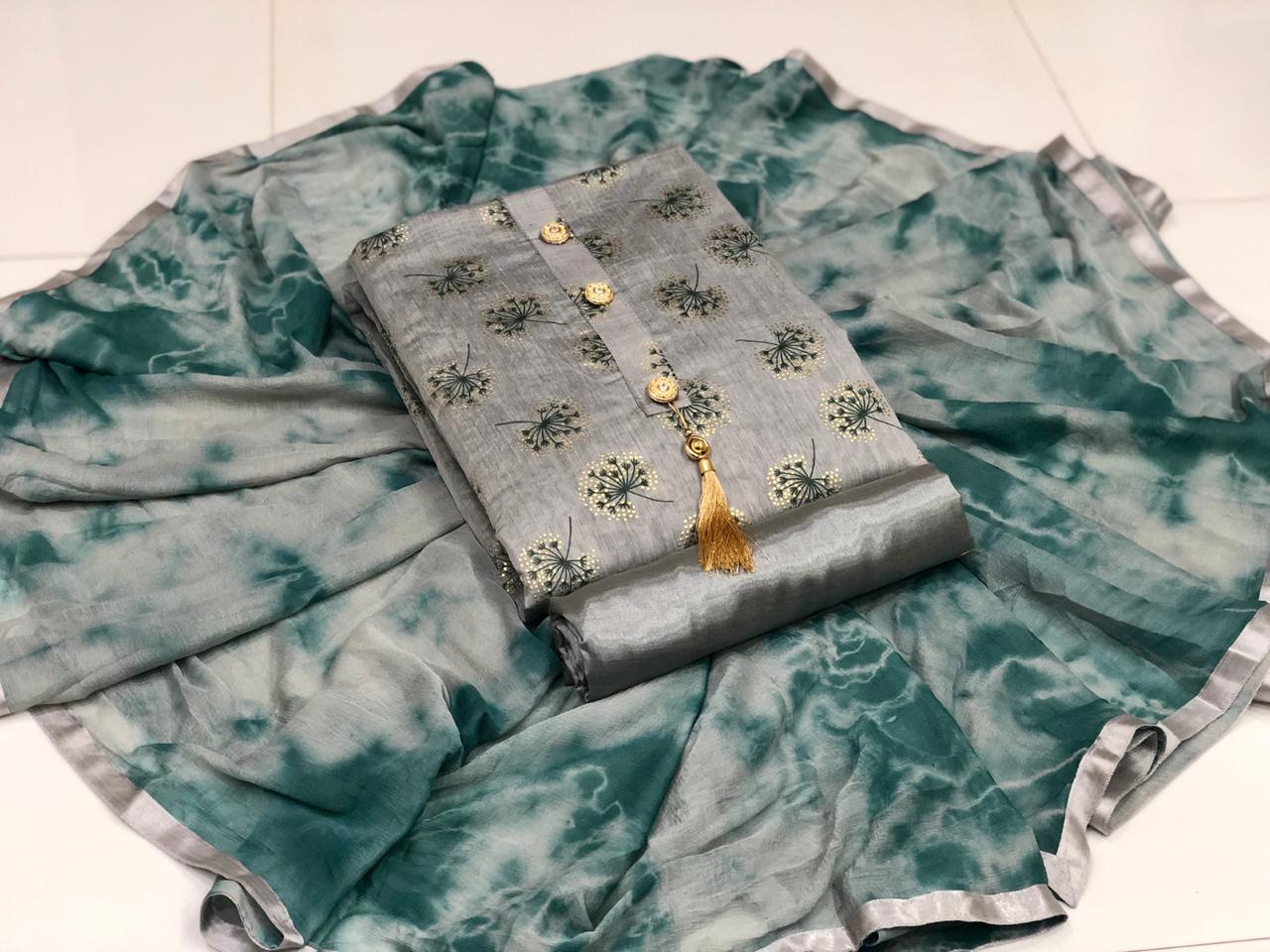 Chanderi Print 2 collection 1