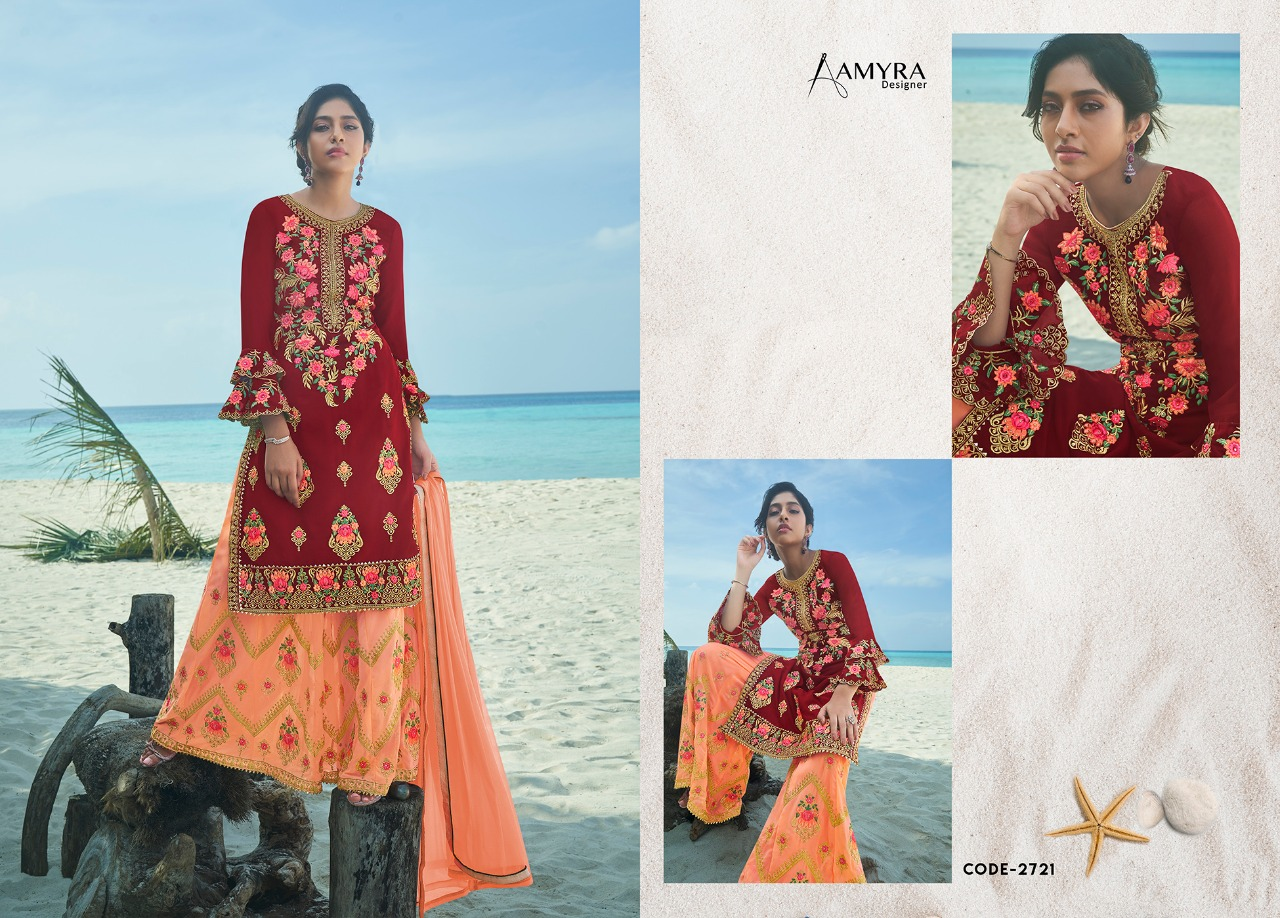 Amyra Designer Kajra vol 8 collection 5