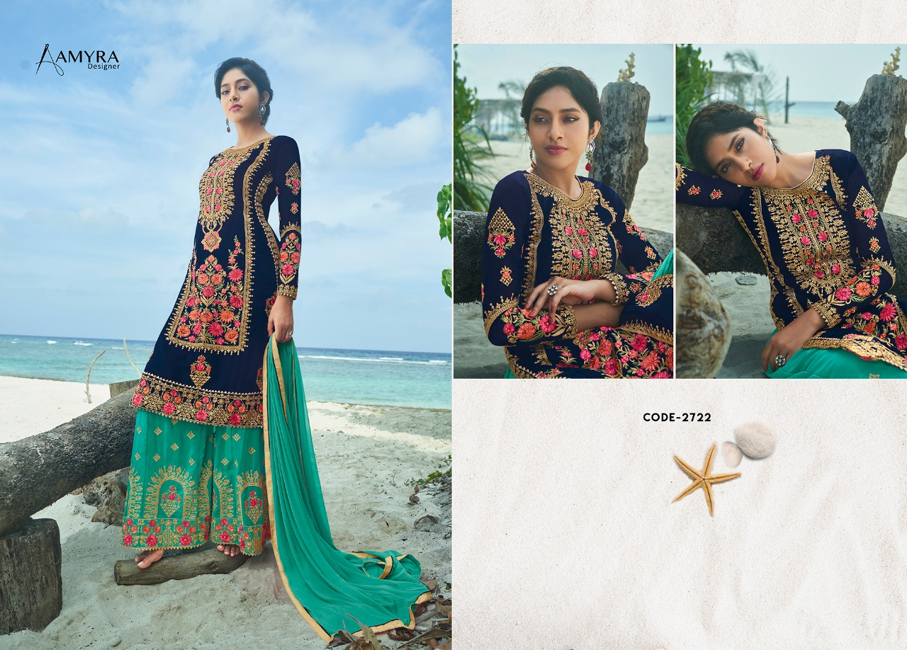 Amyra Designer Kajra vol 8 collection 9