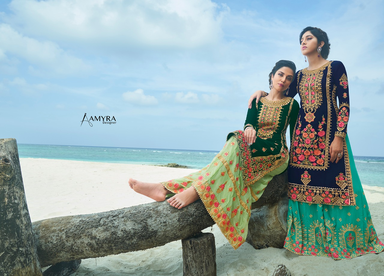 Amyra Designer Kajra vol 8 collection 1