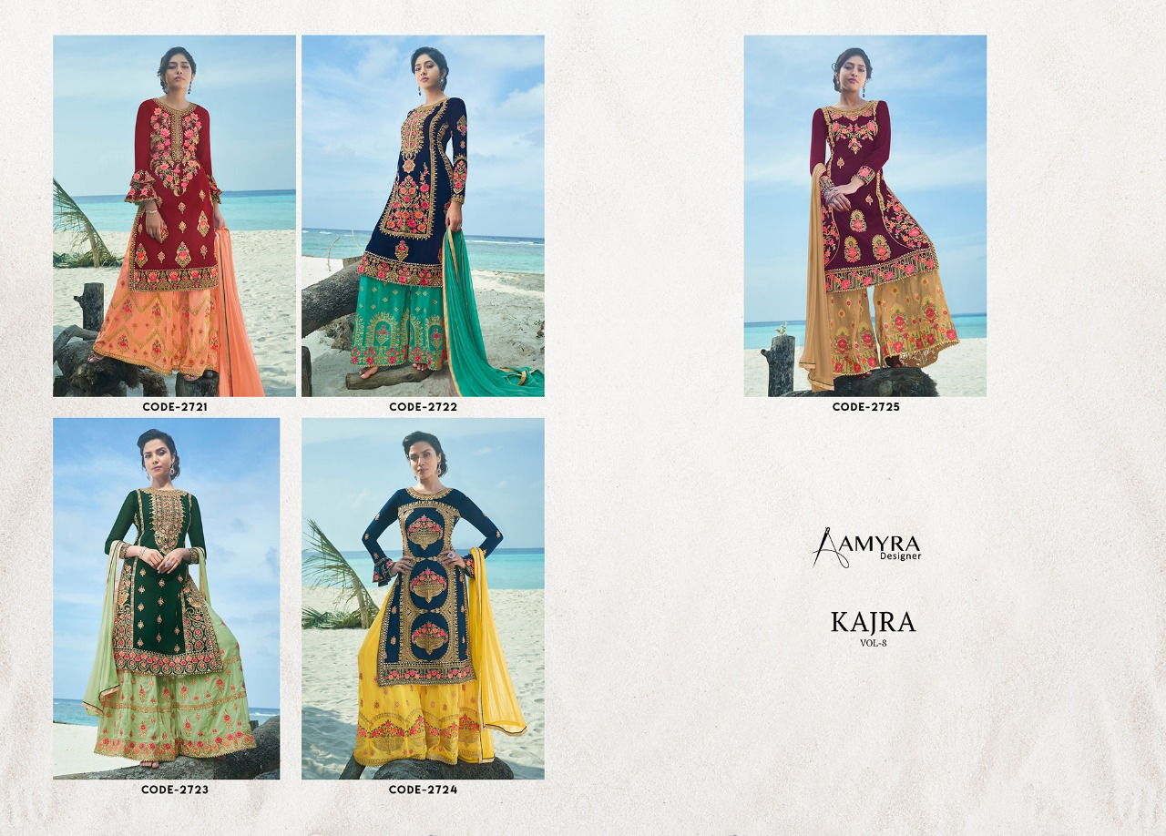 Amyra Designer Kajra vol 8 collection 6