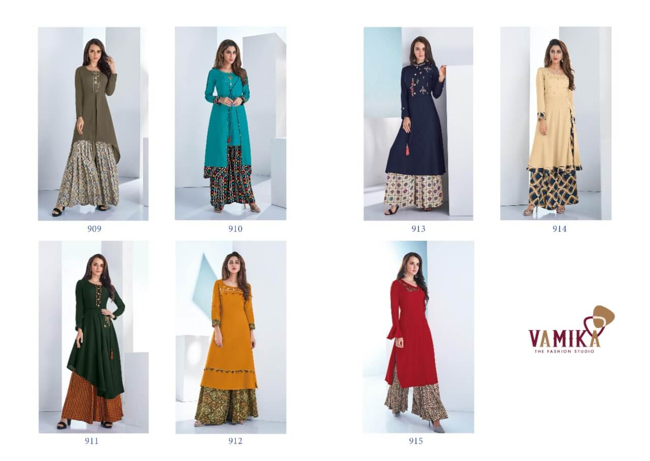 Vamika Plazzo Vol 3 collection 2