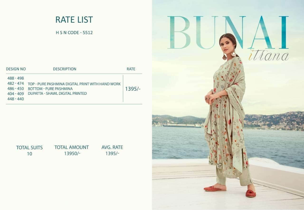 Sahiba Bunai collection 4
