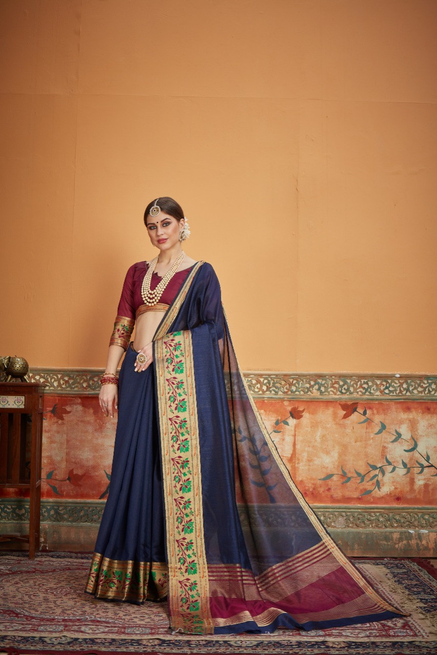 Crystal Silk Saree 4 Designer Silk Saree Collection collection 6