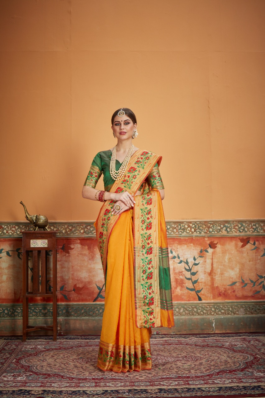 Crystal Silk Saree 4 Designer Silk Saree Collection collection 3