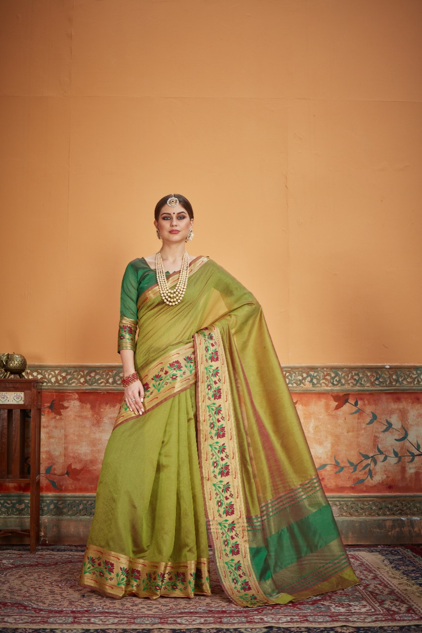 Crystal Silk Saree 4 Designer Silk Saree Collection collection 1