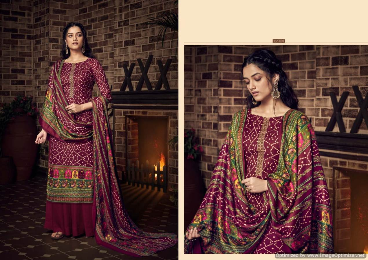 Belliza Desire Pure Pashmina Kashmiri Worked Collection collection 3