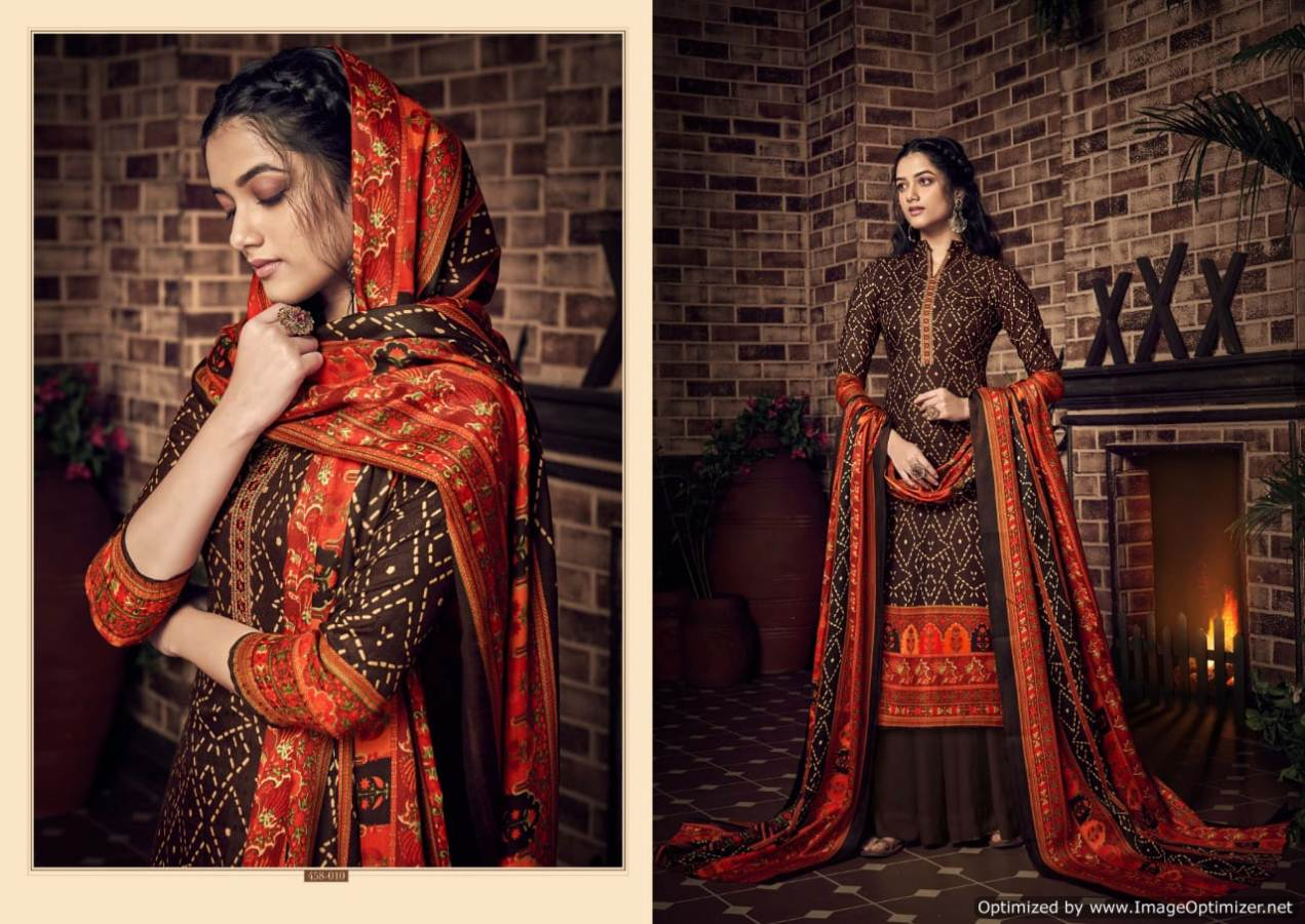 Belliza Desire Pure Pashmina Kashmiri Worked Collection collection 9