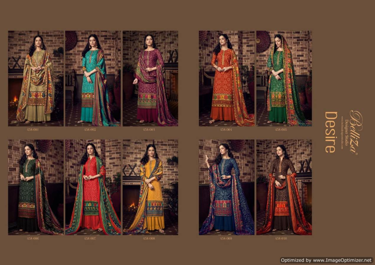 Belliza Desire Pure Pashmina Kashmiri Worked Collection collection 7