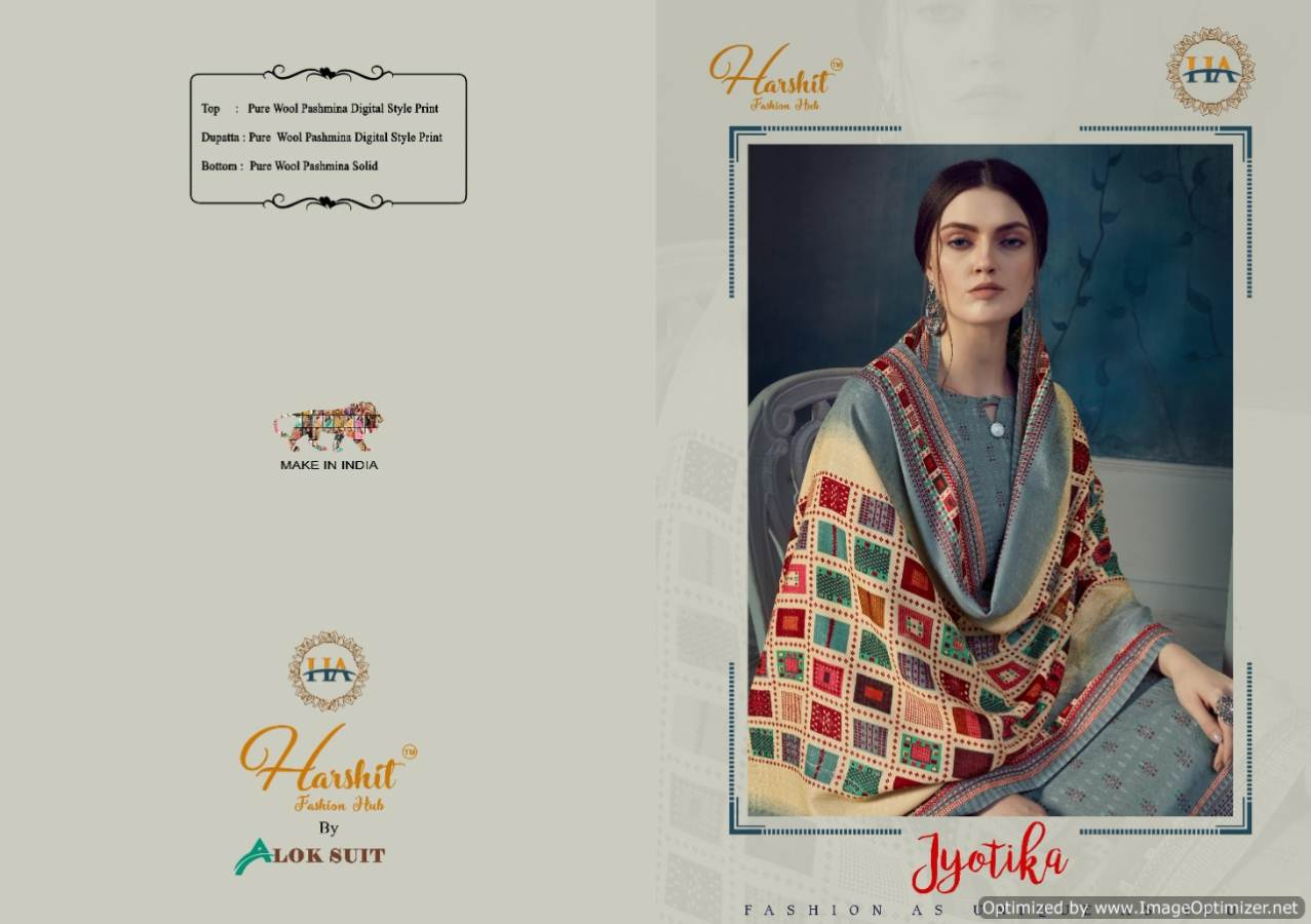 Harshit Jyotika Pure collection 12