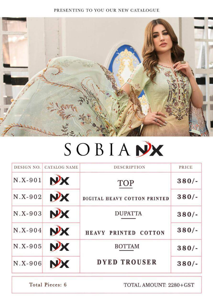 Sobia Nx collection 6