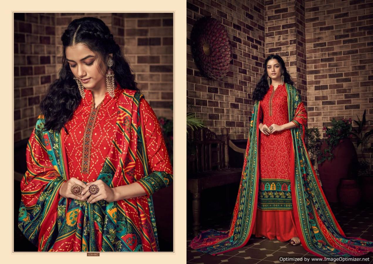 Belliza Desire Pure Pashmina Kashmiri Worked Collection collection 1