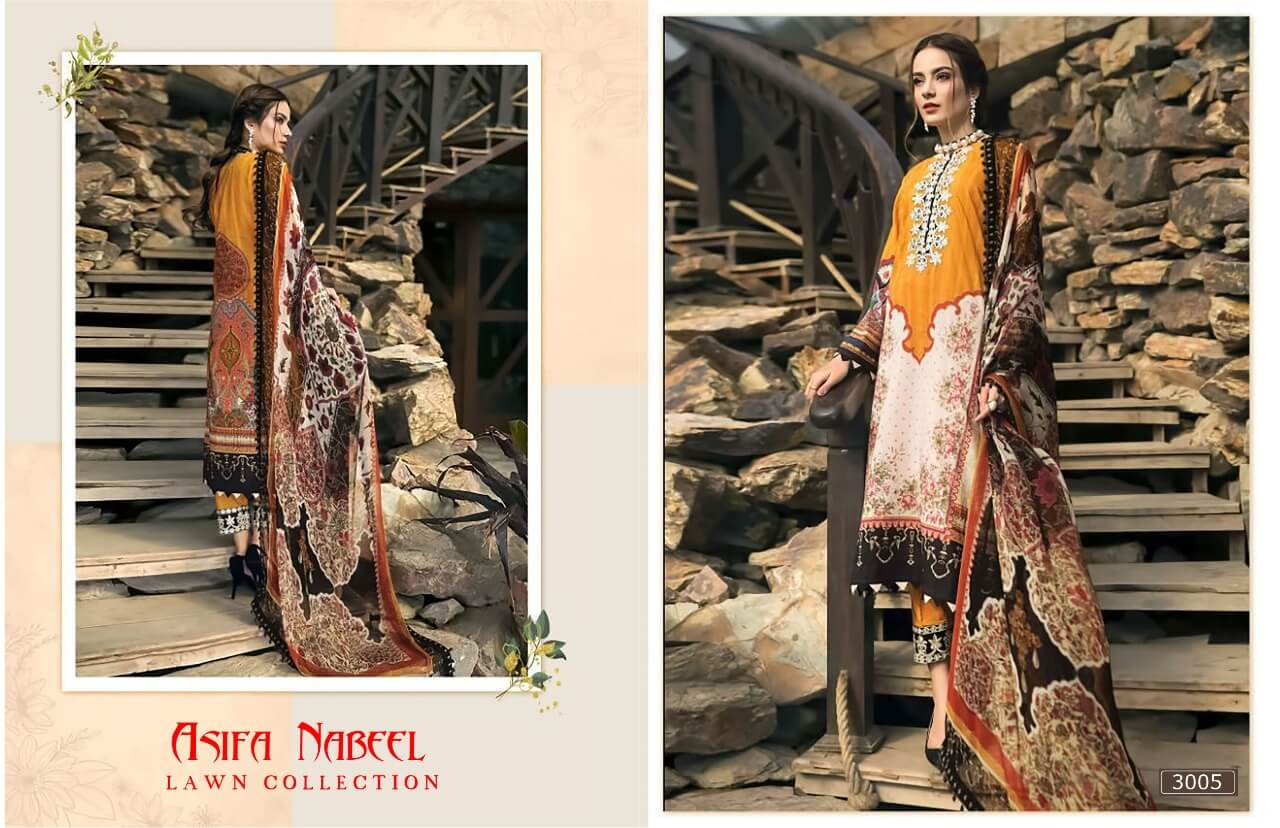 Asifa Nabeel Lawn Collection 3 collection 5