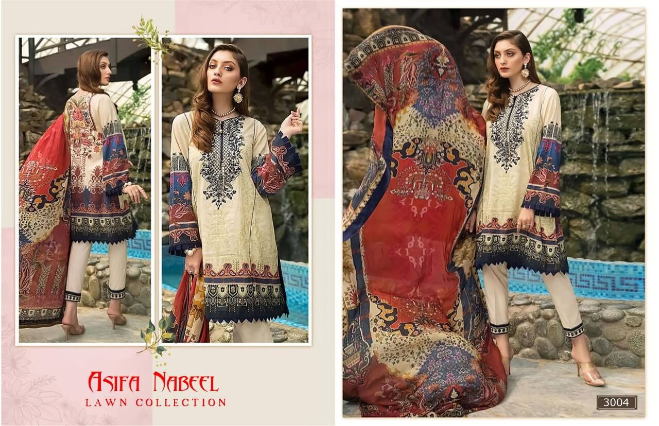 Asifa Nabeel Lawn Collection 3 collection 4