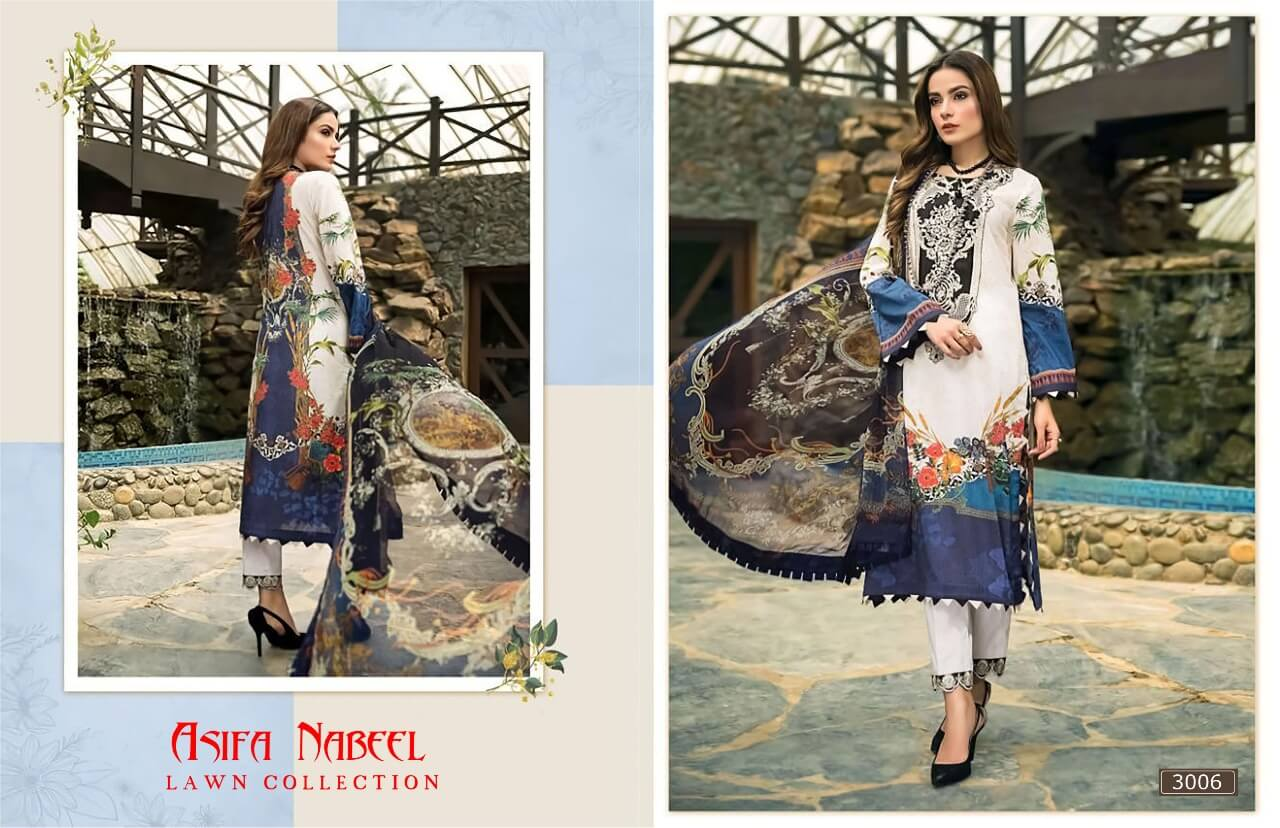 Asifa Nabeel Lawn Collection 3 collection 6