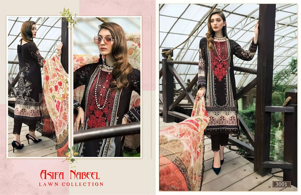 Asifa Nabeel Lawn Collection 3 collection 1